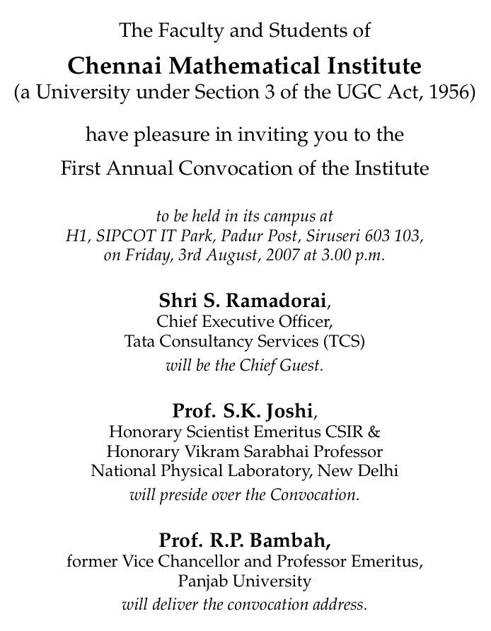 https://www.cmi.ac.in//events/convocation/2007/invitation-2007.txt