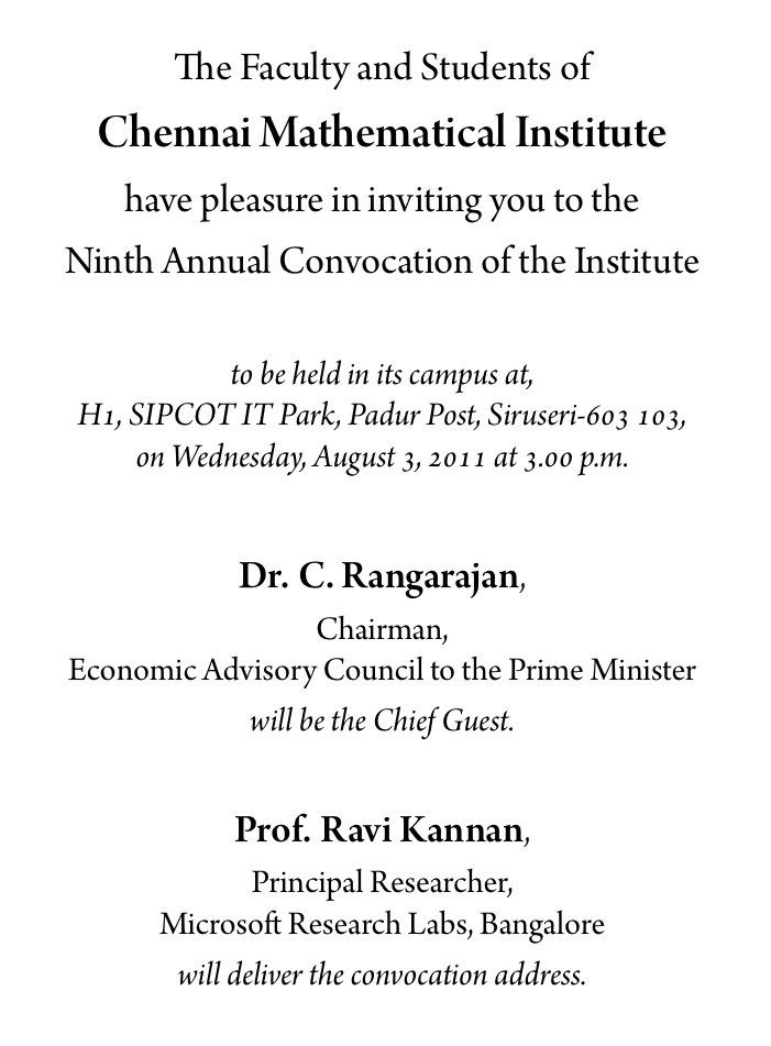 https://www.cmi.ac.in//events/convocation/2011/invitation-2011.txt