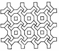 Geometric Patterns From Patchwork Quilts - Mathematical Designs